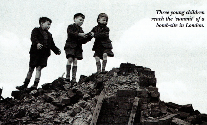 Life on the bomb-sites