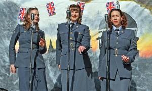 The Spitfires trio