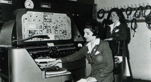 Broadcasting from Butlin's