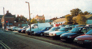 Have times really got better? This is the area shown in the VE photograph - now just a car park!