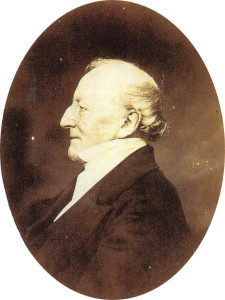 The Rev. Henry Glossop, in a photograph taken around 1880.