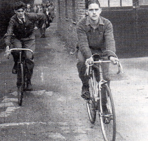 Still cycling in 1948...