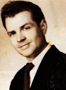 Patrick Raven as a young man.