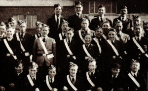 A group of intrepid Boys' Brigade members from the Leadgate area, County Durham, in the mid 1960s.