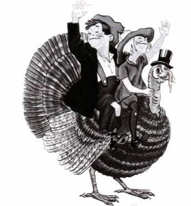 Ahh Cuthbert the turkey did not die in vain
