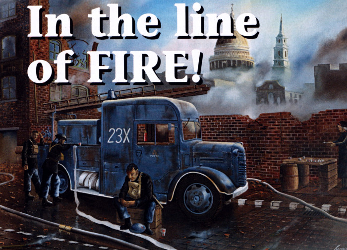 In the line of fire!