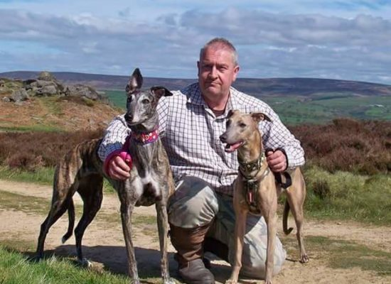 On the mooch with Loni and Smokie on Ilkley moor