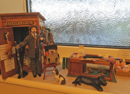Miniature Keeper\'s Store – created to help with Game Fair withdrawal symptoms